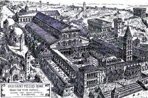 Antica Basilica Costantiniana di San Pietro in Roma
