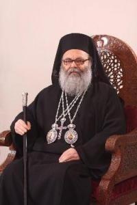 Sua Santità Giovanni X, (Yazigi) Patriarca di Antiochia e di tutto l'Oriente.
