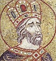 Mosaico raffigurante San Costantino Imperatore (Basilica di San Marco, Venezia)